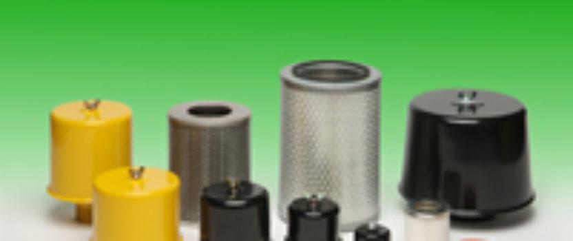 Dry-air intake filters