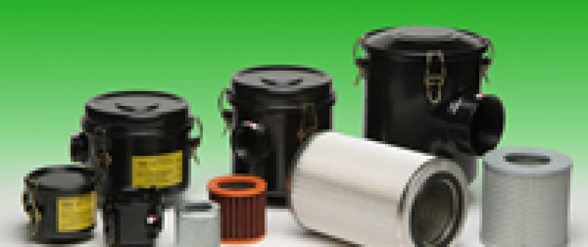 Dry-air filters for vacuum pumps